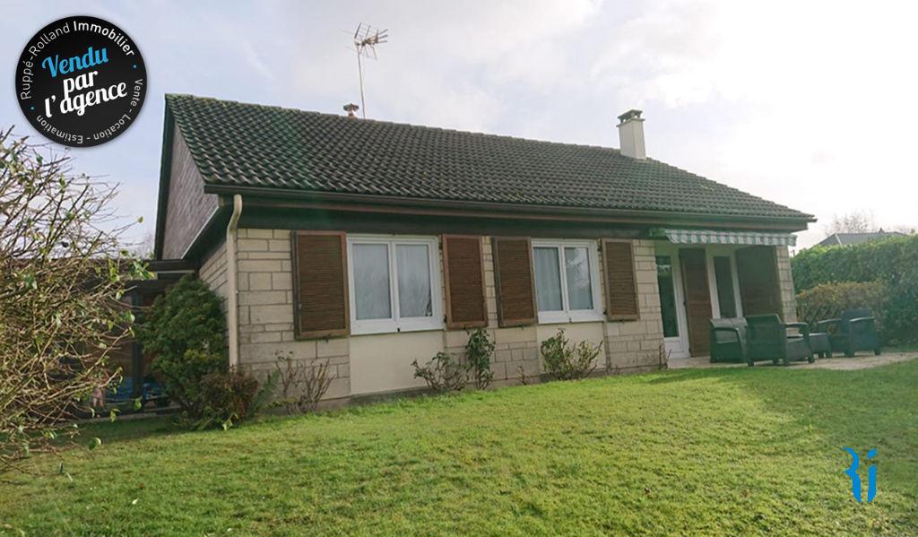 Maison de plain-pied - MONTMAIN (76520).