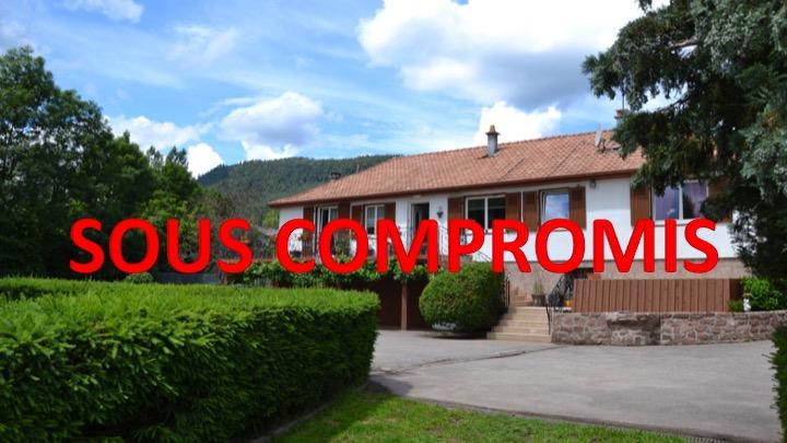 Maison de plain-pied 130 m² SAULCY/MEURTHE