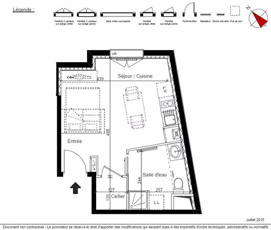 Photo Studio dans résidence de standing image 2/4