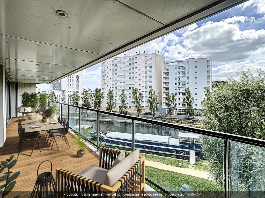 Sale apartment Rennes 1293750€ - Picture 1