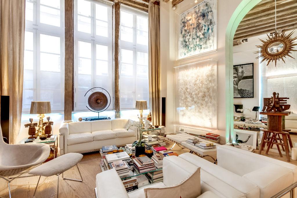 Marais saintonge loft paris 75000 for Appartement loft paris vente
