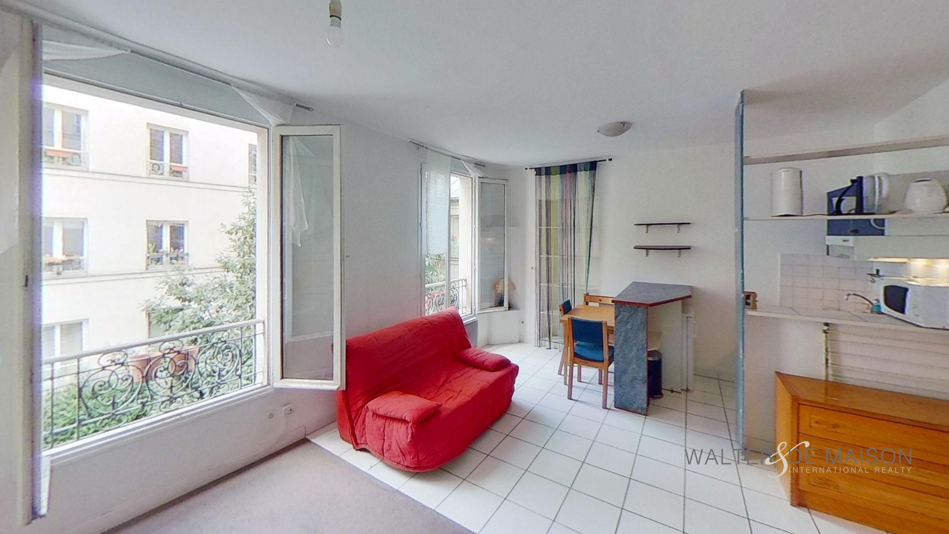 Appartement 1 pièce(s) 26.5 m²                         75011 PARIS