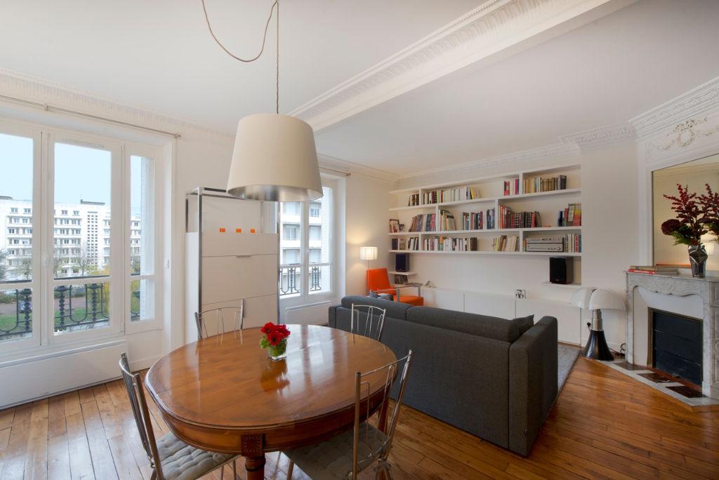 Appartement 3 pièce(s) 61 m²                         75013 PARIS