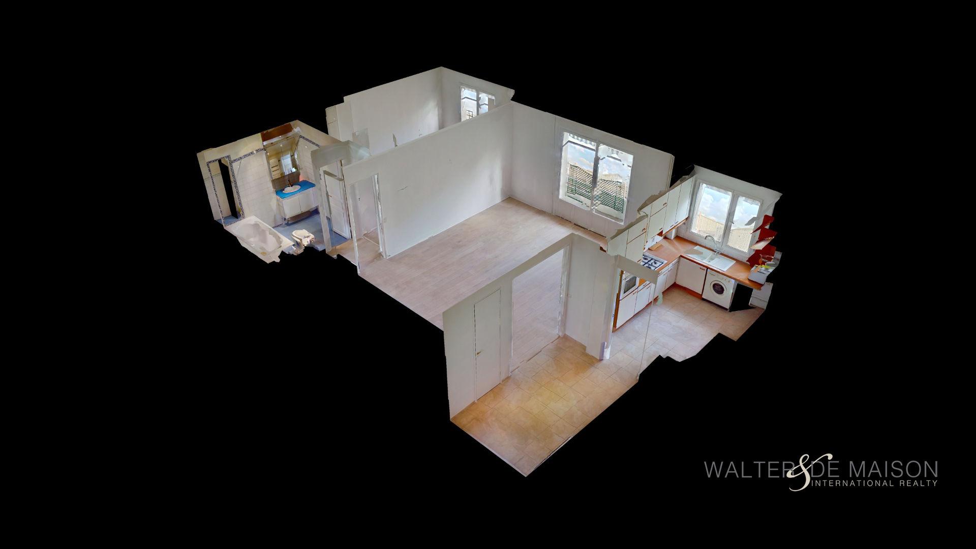 Appartement 2 pièce(s) 56 m²                         75016 PARIS