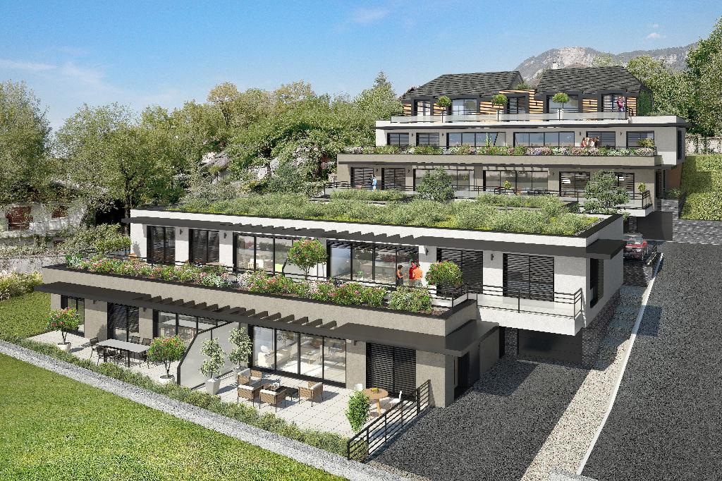 Appartement A Vendre Aix Les Bains Vue Lac