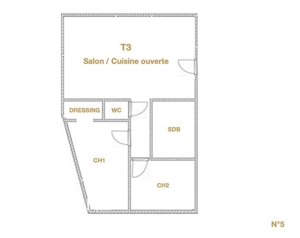Appartement appartement de haut standing t3 en centre ville avec parking ARRAS - Photo 7