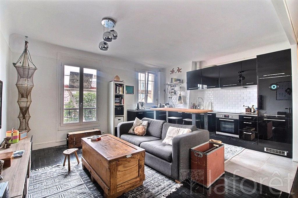 annonce vente appartement saint ouen 93400 50 m 243 000 992739575095. Black Bedroom Furniture Sets. Home Design Ideas